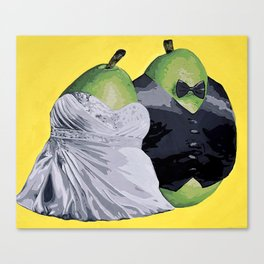 The Perfect Pear Canvas Print