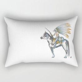 Numero 8 -Cosi che cavalcano Cose - Things that ride Things- Rectangular Pillow