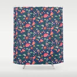 Watching you blossom / Chronicles Shower Curtain
