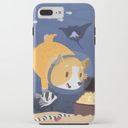 Diving For Treasure! iPhone Case