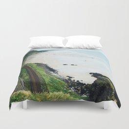 Castlerock Beach Duvet Cover