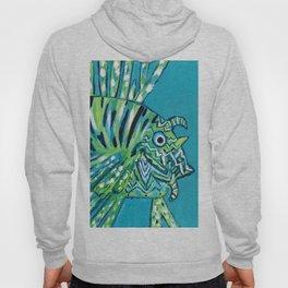 Lion Fish 1, a pretty predator Hoody