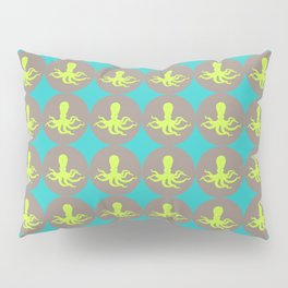 Yellow octopus pattern Pillow Sham