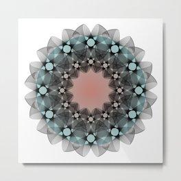 Ah Um Design #012e Metal Print
