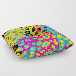 colorpop leopard Floor Pillow