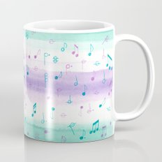 #102. JENNI (Musical Notes) Mug