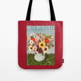 House Beautiful May 1938 Tote Bag
