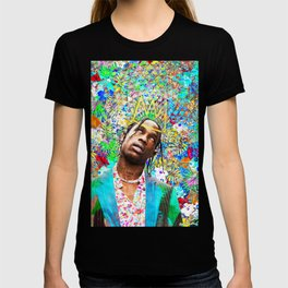 Travis Portrait Artwork T-shirt