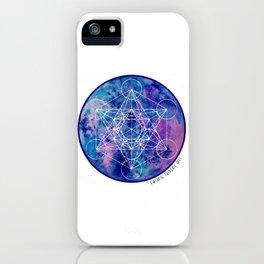 Zenetae Planet Metatron iPhone Case