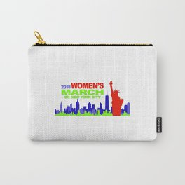 women's march , new york city , 2018 Carry-All Pouch