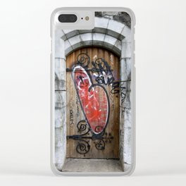 Love is the Message Clear iPhone Case
