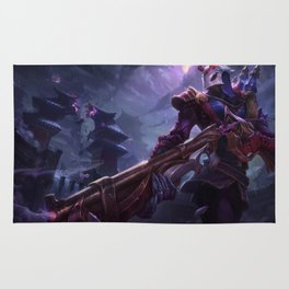 Blood Moon Jhin League Of Legends Rug