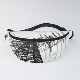 Power Lines Fanny Pack