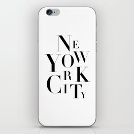 NYC iPhone Skin