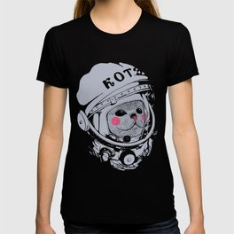 Spaceman cat T-shirt
