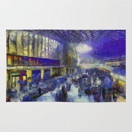Kings Cross Station Van Gogh Rug