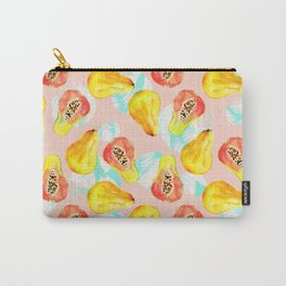 Watercolor pattern of papayas Carry-All Pouch