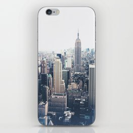 New York City and the Empire State Building iPhone Skin
