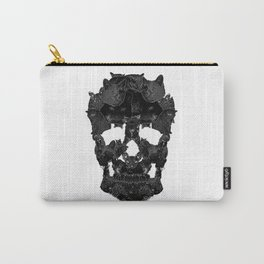 Sketchy Cat skull Carry-All Pouch