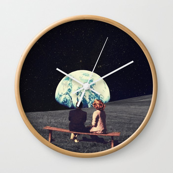 We Used To Live There Wall Clock
