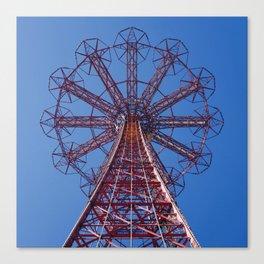 Eiffel Tower of Brooklyn (Coney Island, New York) Canvas Print