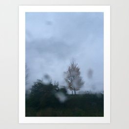 Blur Rain 4 Art Print