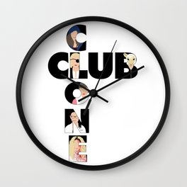 Orphan Black - Clone Club V1 B Wall Clock