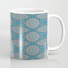 Tribal Tile Blue Mug