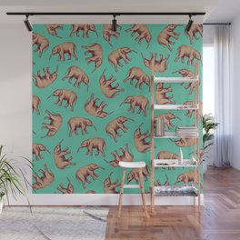Elephant Ocean Wall Mural