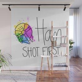 Han Shot First Wall Mural