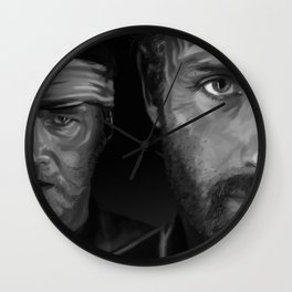 Rick and The Governor Wall Clock