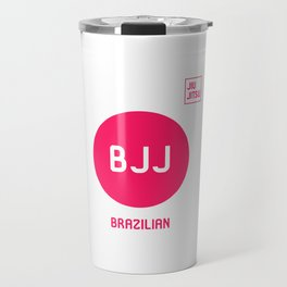 My Favorite Sport is Brazilian Jiu-Jitsu Fun BJJ MMA Travel Mug