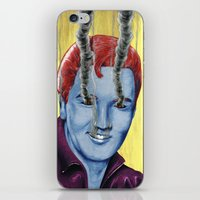 elvis iPhone & iPod Skins featuring Elvis by FAMOUS WHEN DEAD