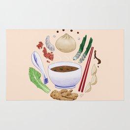 Dumpling Diagram Rug