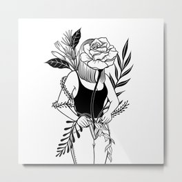 Let me bloom Ⅱ Metal Print
