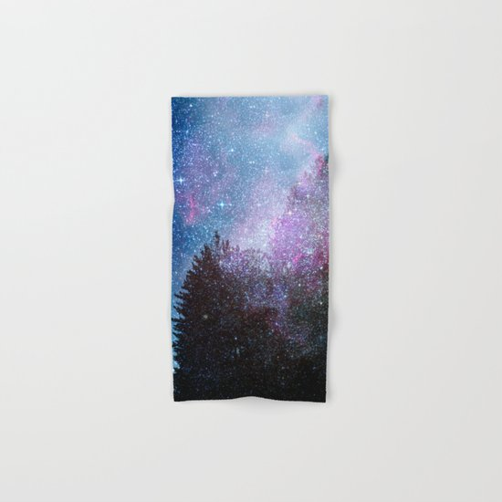 Stars forest..... Cosmic. Hand & Bath Towel