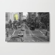 Unseen Monsters of San Francisco - Chubby Widsets Metal Print