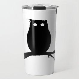 the owl awake Travel Mug