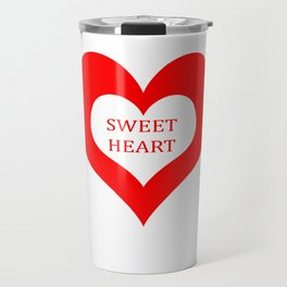 Sweet Heart Travel Mug