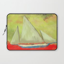 Abstract-ship Laptop Sleeve