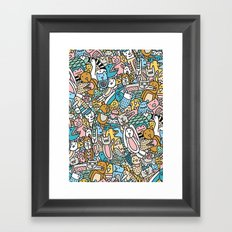 ANIMAL PARTY Framed Art Print