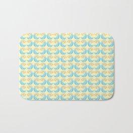 Trippy Wave Pattern Bath Mat