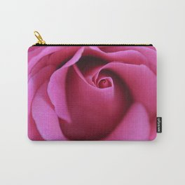Single Rose Carry-All Pouch