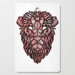 Lion Mask Cutting Board