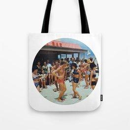 Party At The Beach Bar Tote Bag
