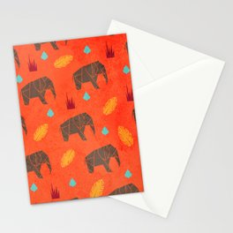Elephant Origami Stationery Cards