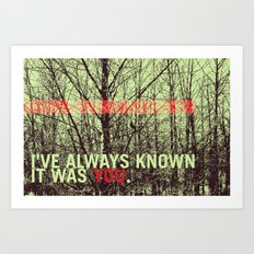 known Art Print