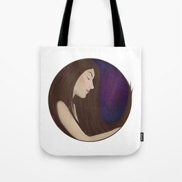 You're a voice singing me to sleep Tote Bag