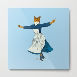 Look At All The Fox I Give - II Metal Print