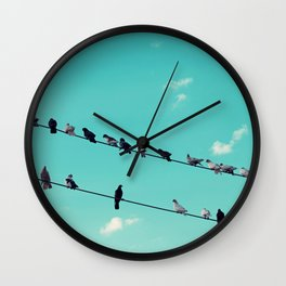 The Sky Gang Wall Clock